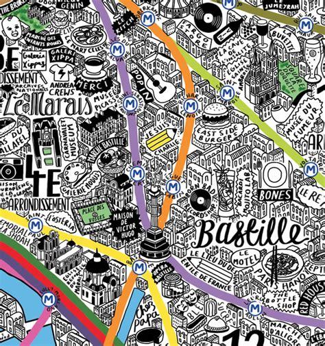 beautiful map  paris