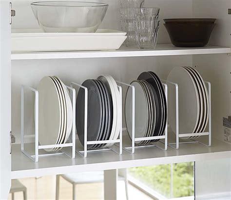 store vertical plate rack