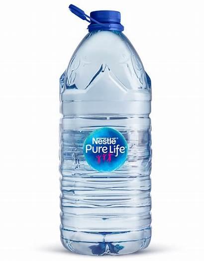 6l Water Bottle Gallon Nestle Pure