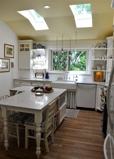 white kitchen transformation  upstate  york maria