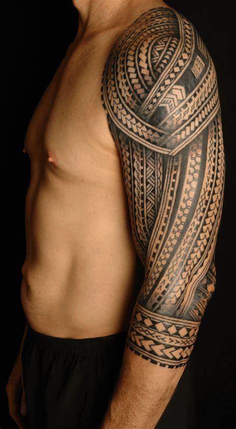 Tatouage Samoan Mollet Tatouage Homme Tribal Au Mollet