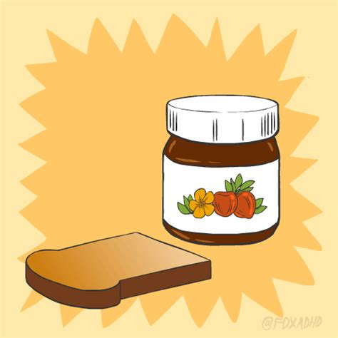 animation cuisine animation nutella gif by gif find on