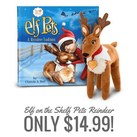 on the shelf reindeer on the shelf pets reindeer only 14 99