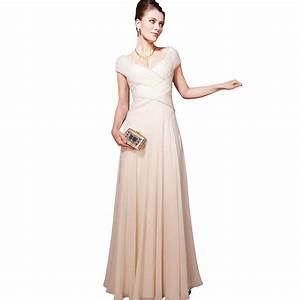 Cream weave floor length bridesmaid dress by elliot claire for Wear to wedding dresses