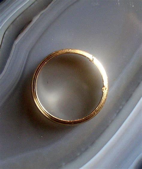 14k gold ring wedding band damaged 5 1 grams size 12 scrap or use thingery previews postviews