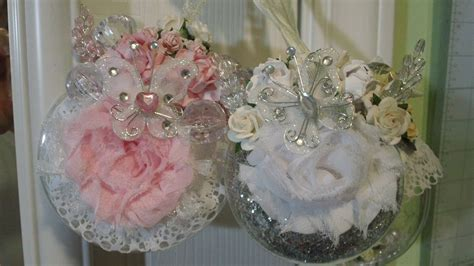 shabby chic christmas decorations to make thetara148 shabby chic christmas ornaments
