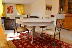 relooking d39une salle a manger de style louis philippe l With moderniser une salle a manger en merisier