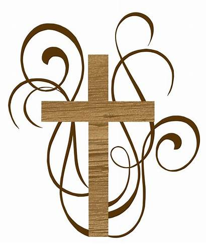 Baptism Catholic Cross Funeral Clipart Christian Ministry
