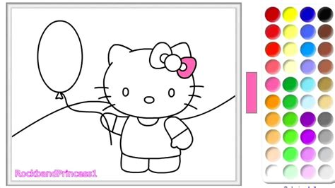 kitty coloring pages  kitty coloring book
