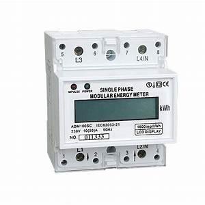 Multi Function Ct Three Phase Kwh Meter   Multi Tariff 1p Smart Kwh Meter