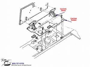 1991 Corvette Gas Door Parts