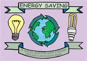 Drawing On Save Energy