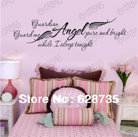ebay wall decor quotes ebay selling quot guardian while i sleep quot removable