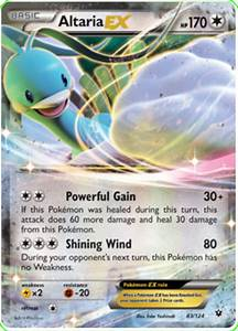 Altaria EX - Fates Collide #83 Pokemon Card