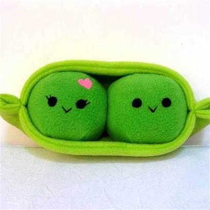 Pod Plush Pea Kawaii Vegetable Plushie Valentine