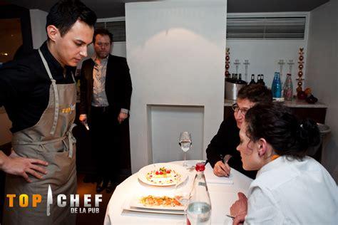 cuisine m6 top chef hervé cuisine en demi finale de top chef de la pub