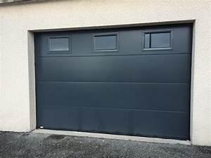 porte de garage en 42 menuiserie 3m With porte garage sectionnelle 3m