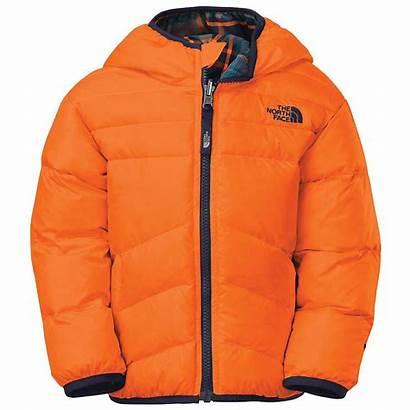 North Face Jacket Boys Toddler Reversible Orange