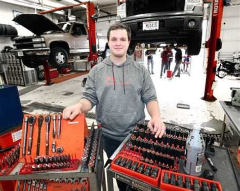aspiring auto tech  west salem wi overcomes struggles