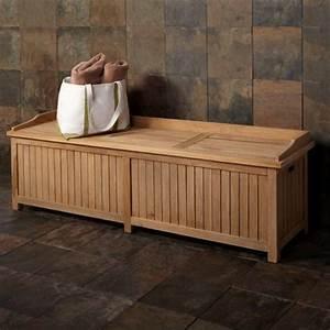 Banc Pour Salle De Bain : superb salle de bain palette 14 le banc coffre de ~ Dailycaller-alerts.com Idées de Décoration