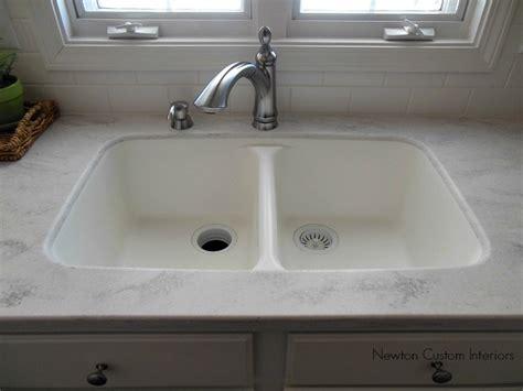 one kitchen sink and countertop kitchen reveal kitchen countertops newton custom interiors