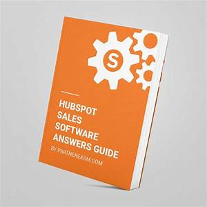 Hubspot Sales Software Certification Answers Guide
