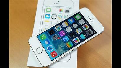 5s Iphone Silver Unboxing Hands