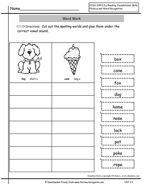 free grade worksheets inflectional endings just