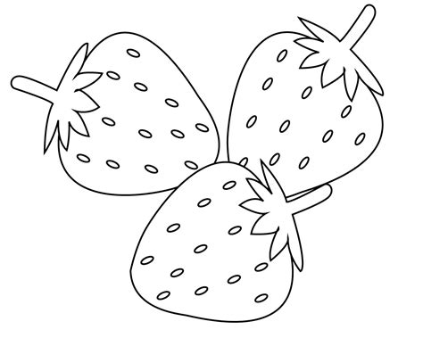 printable fruits coloring pages  kids