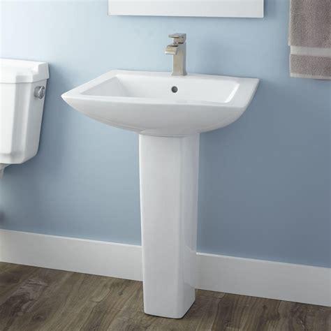 Pedestal Sink Bathroom by Darby Pedestal Sink Bathrooms Pedestal