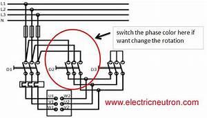Control Circuit Design For Star Delta Motor Starter