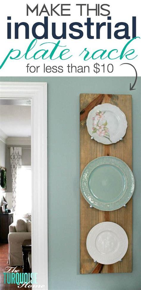 diy industrial plate rack diy tips tricks  tutorials home decor diy home decor home