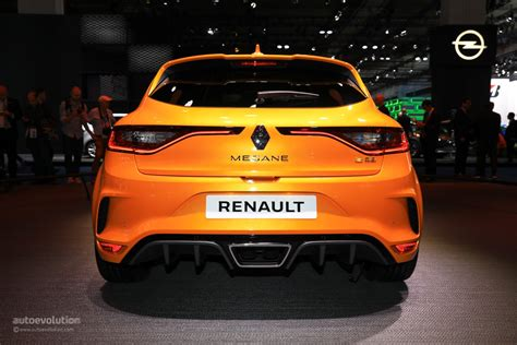 renault hatchback 2017 2018 renault megane rs is the best hatchback at iaa