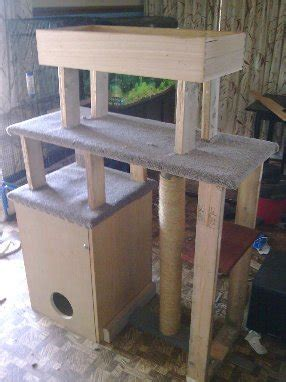 cat tree plans woodwork city  woodworking plans