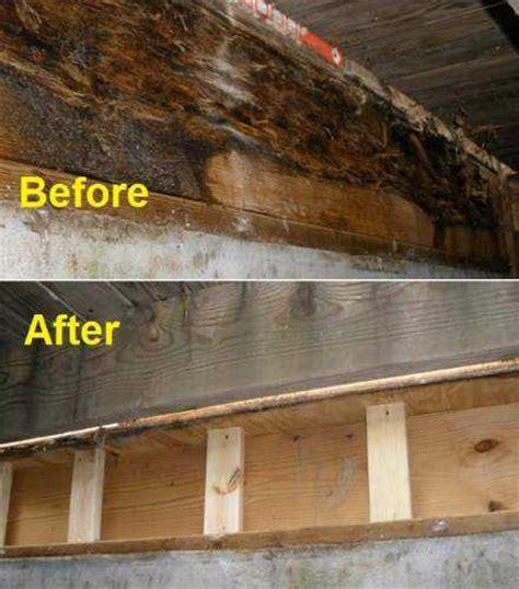Wood Rot Repair Info  Promaster Cincinnati (513) 7240539