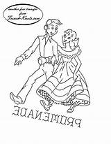 Embroidery Patterns Pattern Square Dancing Knots French Dance Western Couples Hand Transfers Romantic Couple Promenade Towels Kitten Tipnut Dancers Quilt sketch template
