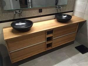 les 25 meilleures idees de la categorie salle de bain en With porte d entrée pvc avec alinea meuble salle de bain bambou