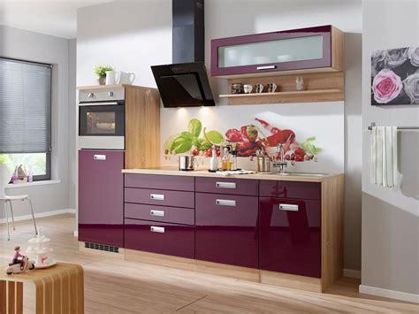 Küchenzeile Mit E-geräten »fulda, Breite 240 Cm«