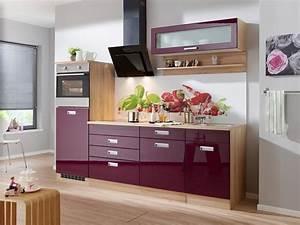 Küchenzeile 240 Cm Mit E Geräten : k chenzeile mit e ger ten fulda breite 240 cm otto ~ Watch28wear.com Haus und Dekorationen