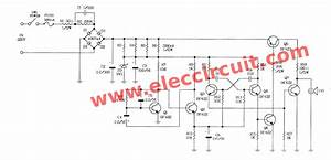 ac 220v siren circuit using transistors eleccircuitcom With sirenswitch circuit