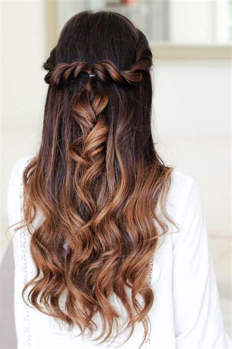 ideas  cute braided hairstyles  pinterest