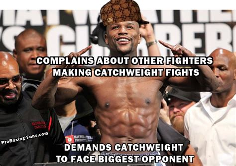 Pacquiao Mayweather Memes - floyd mayweather memes scumbag mayweather decides to use a catchweight against canelo