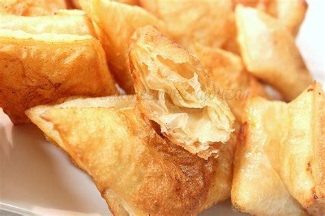 gateau pate feuilletee facile recette msemen croustillant frit recettes facile rapide de djouza