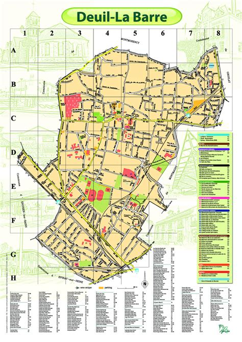 Mairie Ville De Plan De File Plan De La Ville De Deuil La Barre Jpg Wikimedia