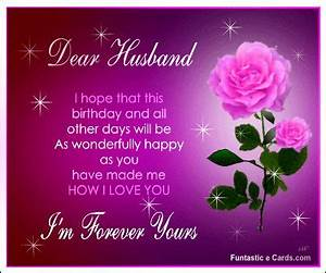 Happy Birthday In Heaven Husband | Happy Birthday Dear ...
