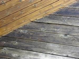 conseils pour une terrasse est en lames de chene With decaper une terrasse en bois