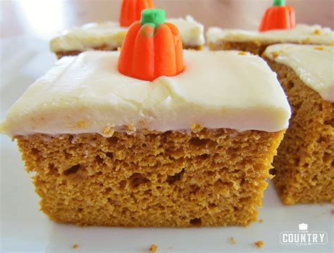 pumpkin spice cake  country cook