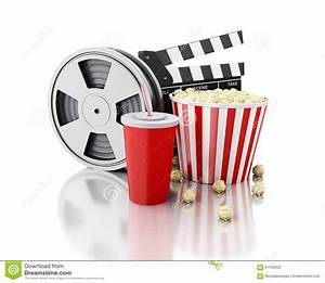 Image Gallery movie reel popcorn soda