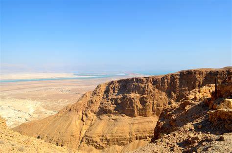 Desert Landscape Dead Sea Wallpapers Hd Desktop And