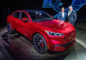 Ford Launches All-electric 'Mustang' SUV